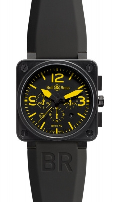 Bell & Ross BR01-94 Chronograph 46mm BR01-94 Yellow