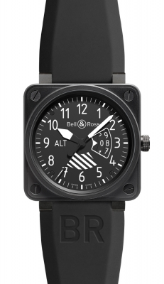 Bell & Ross BR01 Flight Intruments BR01-96 Altimeter