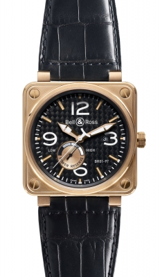 Bell & Ross BR01-97 Power Reserve 46mm BR01-97 Pink Gold