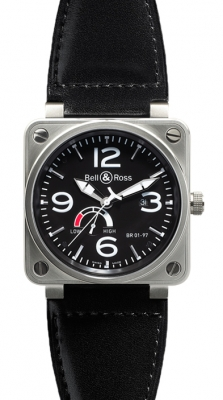 Bell & Ross BR01-97 Power Reserve 46mm BR01-97 Steel Black