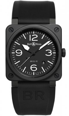 Bell & Ross BR03-92 Automatic 42mm BR03-92 Black Matte Ceramic
