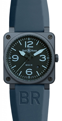 Bell & Ross BR03-92 Automatic 42mm BR03-92 Blue Ceramic
