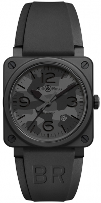 Bell & Ross BR03-92 Automatic 42mm BR0392-CAMO-CE/SRB
