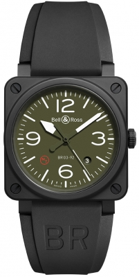 Bell & Ross BR03-92 Automatic 42mm BR0392-MIL-CE