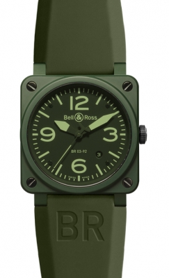 Bell & Ross BR03-92 Automatic 42mm BR03-92 Military Ceramic