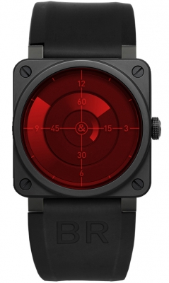 Bell & Ross BR03-92 Automatic 42mm BR03-92 Red Radar