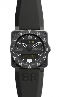 Bell & Ross BR03 Type Aviation Quartz 42mm BR03 Type Aviation Carbon