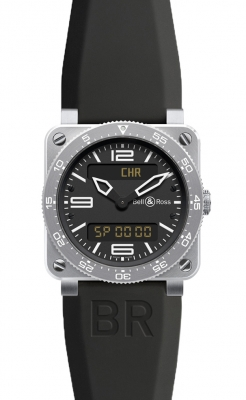 Bell & Ross BR03 Type Aviation Quartz 42mm BR03 Type Aviation Steel