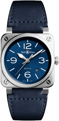 Bell & Ross BR03-92 Automatic 42mm BR0392-BLU-ST/SCA