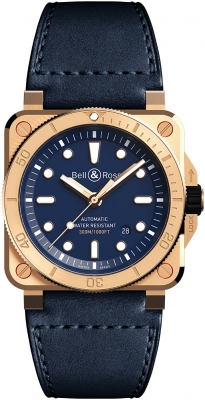 Bell & Ross BR03-92 Automatic 42mm BR0392-D-BU-BR/SCA