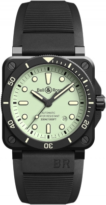 Bell & Ross BR03-92 Automatic 42mm BR0392-D-C5-CE/SRB