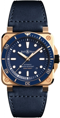 Bell & Ross BR03-92 Automatic 42mm BR0392-D-LU-BR/SCA