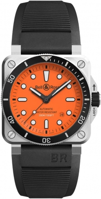 Bell & Ross BR03-92 Automatic 42mm BR0392-D-O-ST/SRB