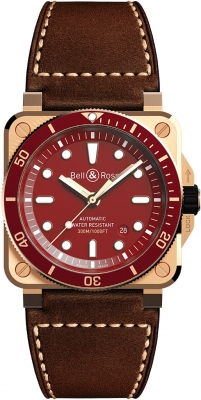 Bell & Ross BR03-92 Automatic 42mm BR0392-D-R-BR/SCA