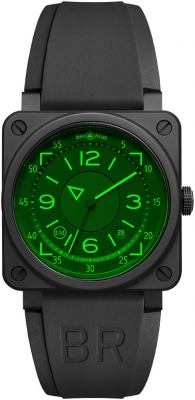Bell & Ross BR03-92 Automatic 42mm BR0392-HUD-CE/SRB