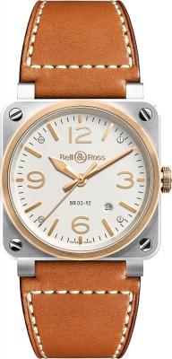 Bell & Ross BR03-92 Automatic 42mm BR0392-ST-PG/SCA