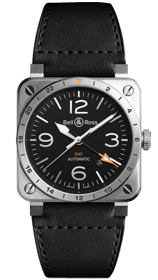 Bell & Ross BR03 GMT 42mm BR0393-GMT-ST/SCA