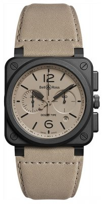 Bell & Ross BR03-94 Chronograph 42mm BR0394-DESERT-CE