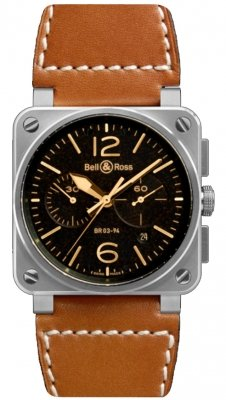 Bell & Ross BR03-94 Chronograph 42mm BR0394-ST-G-HE/SCA