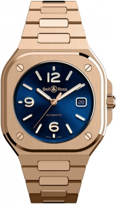 Bell & Ross BR 05 Automatic 40mm BR05A-BLU-PG/SPG