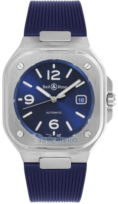 Bell & Ross BR 05 Automatic 40mm BR05A-BLU-ST/SRB