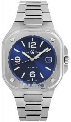 Bell & Ross BR 05 Automatic 40mm BR05A-BLU-ST/SST
