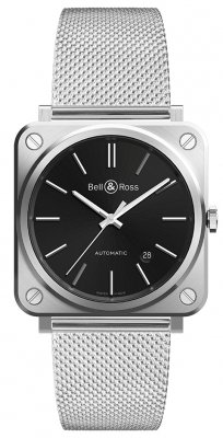 Bell & Ross BR S Automatic 39mm BRS92-BLC-ST/SST