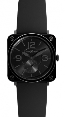 Bell & Ross BR S Quartz 39mm BRS Black Ceramic Phantom