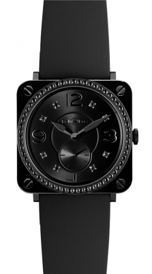 Bell & Ross BR S Quartz 39mm BRS Black Ceramic Phantom Diamond