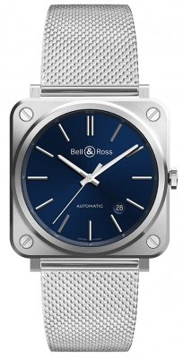 Bell & Ross BR S Automatic 39mm BRS92-BLU-ST/SST