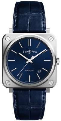 Bell & Ross BR S Automatic 39mm BRS92-BLU-ST/SCR