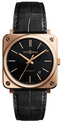 Bell & Ross BR S Automatic 39mm BRS92-BL-PG/SCR