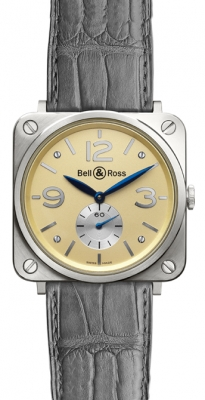 Bell & Ross BR-S Mechanical Gold 39mm BRS White Gold