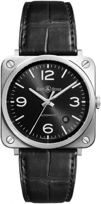 Bell & Ross BR S Automatic 39mm BRS92-BL-ST