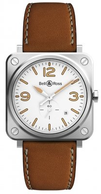 Bell & Ross BR S Quartz 39mm BRS-WHERI-ST/SCA