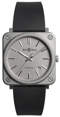 Bell & Ross BR S Automatic 39mm BRS92-GR-ST/SRB