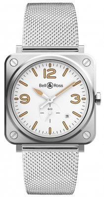 Bell & Ross BR S Quartz 39mm BRS-WHERI-ST/SST