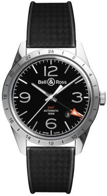 Bell & Ross BR 123 Vintage BRV123-BL-GMT/SRB