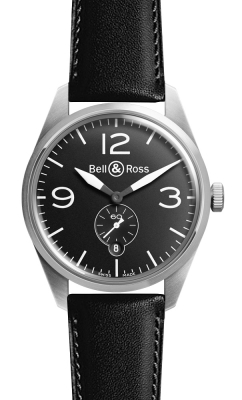 Bell & Ross BR 123 Vintage BRV 123 Original Black