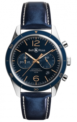 Bell & Ross BR 126 Sport Chronograph BRV126-BLU-ST/SCA
