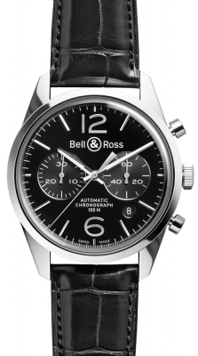 Bell & Ross BR 126 Vintage BRV 126 Officer Black