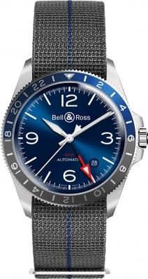 Bell & Ross BR V2-93 GMT BRV293-BLU-ST/SF