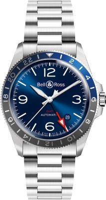 Bell & Ross BR V2-93 GMT BRV293-BLU-ST/SST