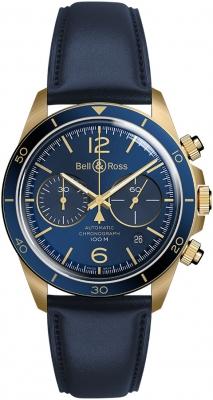 Bell & Ross BR V2-94 BRV294-BLU-BR/SCA