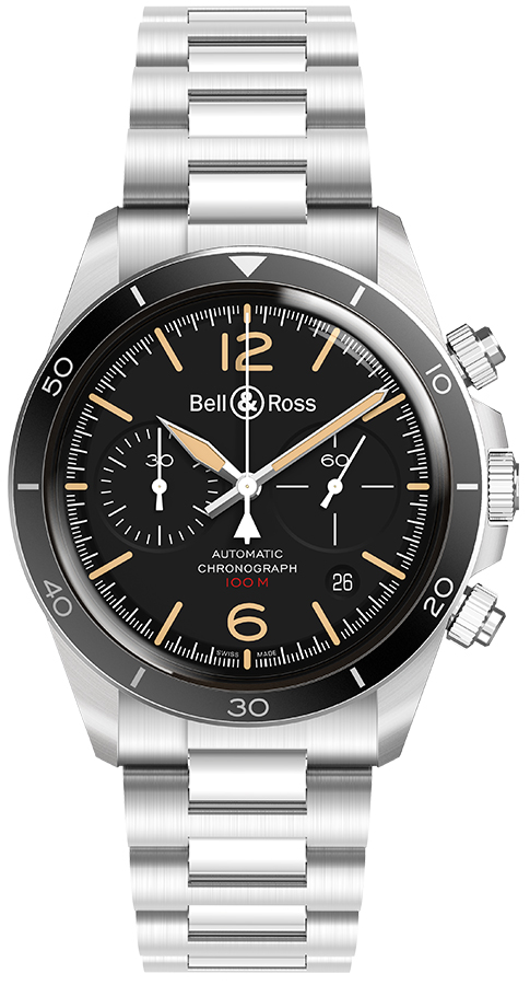 Bell And Ross Watches >> Bell Ross Br V2 94 Brv294 Her St Sst