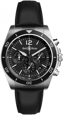 Bell & Ross BR V3-94 BRV394-BL-ST/SCA