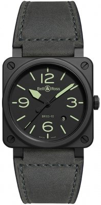 Bell & Ross BR03-92 Automatic 42mm BR0392-BL3-CE/SCA