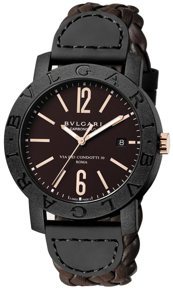 Availability. Bulgari BVLGARI BVLGARI CarbonGold Automatic 40mm Mens Watch e487dada4d