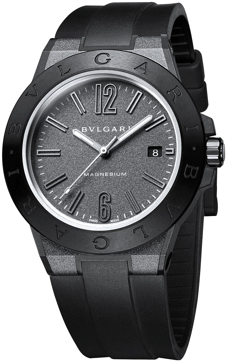 octo men bvlgari watch watches dial s leather black solotempo automatic