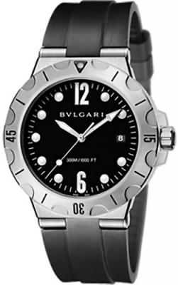 f9234958a46 102323 dp41bsssd Bulgari Diagono Scuba Mens Watch